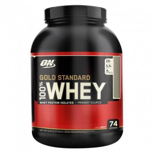 Протеин Optimum Gold Standard 100% Whey, 2.27 кг Роки роад